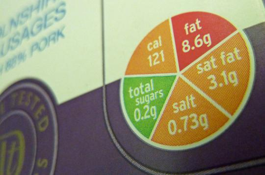 Etiquetage nutritionnel : les tests démarrent le 26 septembre