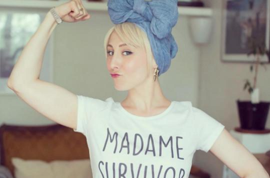 Cancer : une fausse frange pour soigner son look