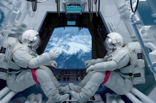 Etourdissements lorsque l'on se lève : la clé trouvée chez les astronautes