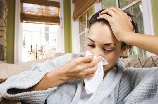 Epidémie de grippe : 10 régions françaises dans le rouge