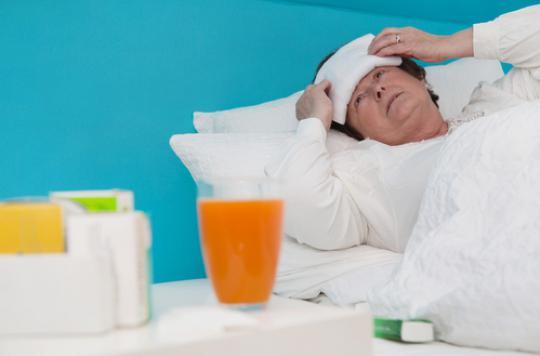 Grippe : les hospitalisations touchent les seniors