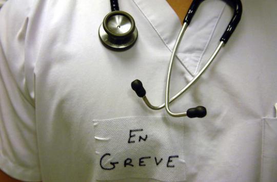 Grève à l'hôpital : les anesthésistes se sont largement mobilisés