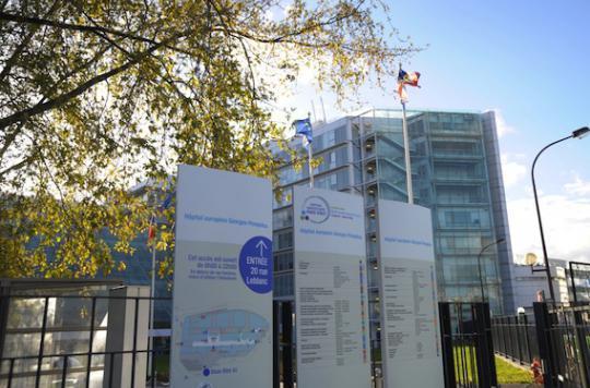 Présence d'un champignon : 9 blocs fermés à l'hôpital Pompidou