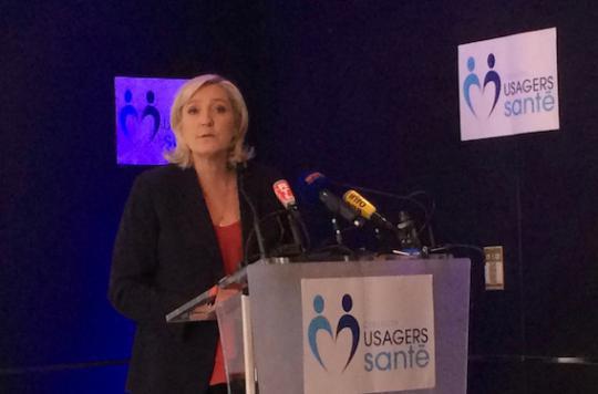 Santé : Marine Le Pen s'en prend à Marisol Touraine