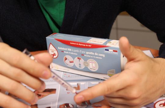 Autotest VIH : la HAS donne le mode d'emploi