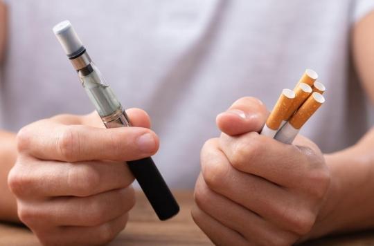 Les adolescents qui vapotent plus enclins à fumer des cigarettes