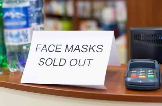 Coronavirus : des mesures pour encadrer les prix de gels hydroalcooliques et limiter la vente de masques