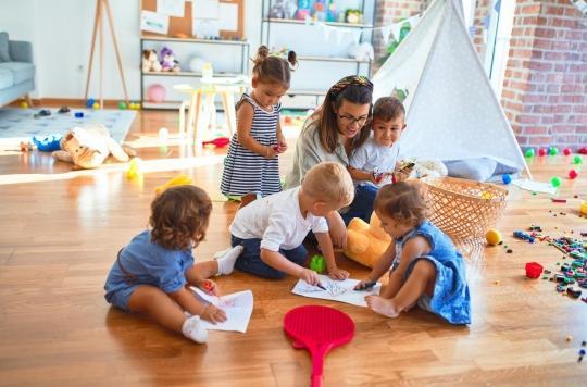 Covid-19 : les enfants en crèche ne diffusent pas le virus