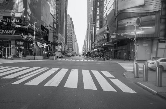 À New York, se couvrir le visage est vivement conseillé
