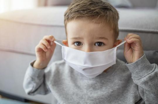 Les problèmes gastro-intestinaux, symptômes de la Covid-19 chez les enfants