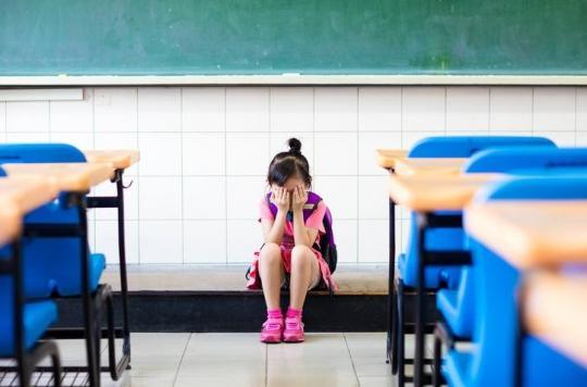Rentrée des classes: jusqu'à 5% des élèves souffrent de phobie scolaire