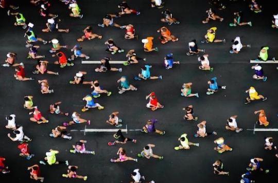 Courir un marathon quand on est un amateur est mauvais pour le cœur