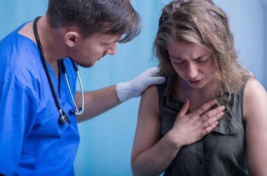 Douleur de la poitrine : un diagnostic d'artères bouchées sur une simple prise de sang