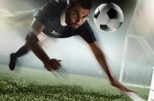Football: les buts de la tête peuvent provoquer des lésions du cerveau