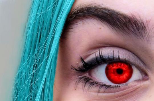 Les lentilles de contact colorées ne sont pas sans danger, en particulier sur internet