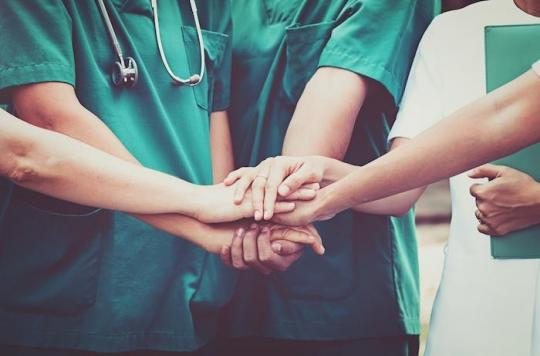 Le moral des personnels hospitaliers est plus affecté que celui du reste de la population