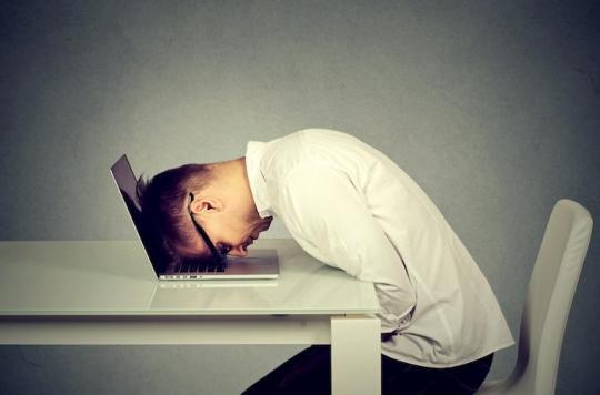 Le travail serait la première cause de dépression pour les Français