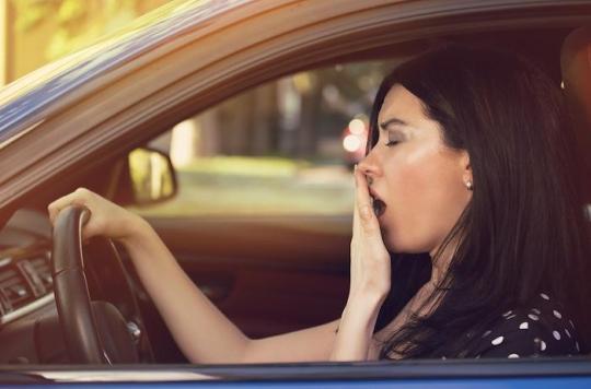 Somnolence au volant : attention, les automobilistes ne dorment pas assez