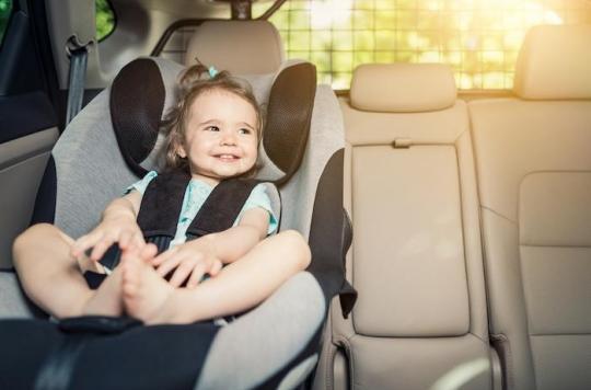 Retour de la chaleur : laisser un enfant dans une voiture peut le tuer en une heure
