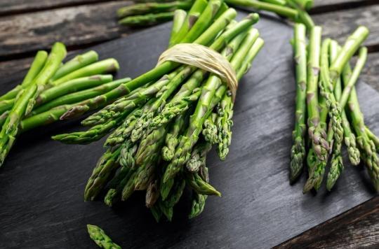 Les asperges, un légume peu calorique qui participe à la bonne humeur
