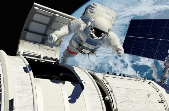 Un médecin traite le caillot de sang d'un astronaute dans l'espace depuis la Terre