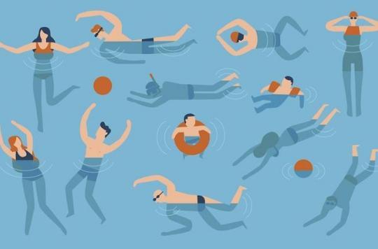 Les bienfaits de la natation sont multiples : n'ayez plus peur de l'eau