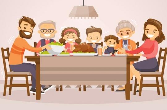 Obésité : l'importance des repas en famille dans l'alimentation des jeunes