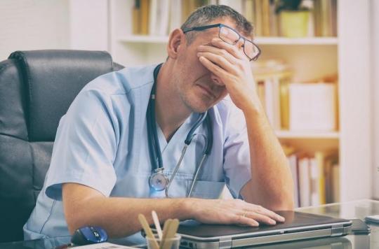 Epuisement professionnel et erreurs médicales : 55% des médecins concernés