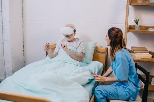 Marseille : la réalité virtuelle pour réduire le stress des patients après une greffe de poumons