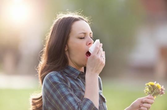 Allergie aux pollens : alerte rouge sur la France cette semaine