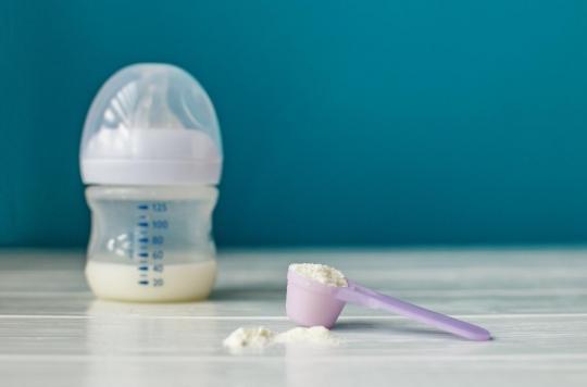 Des bébés régurgitent un ver après avoir bu… du lait Gallia