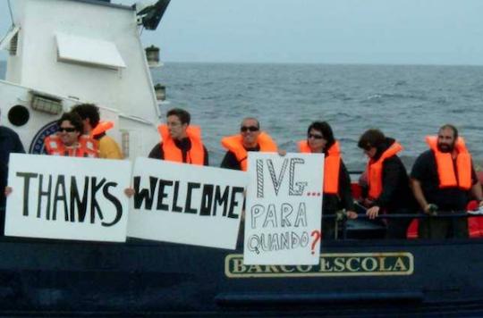 Le bateau de Women on Waves refait parler de lui — Guatemala