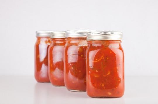 Des perturbateurs endocriniens dans les sauces tomates industrielles