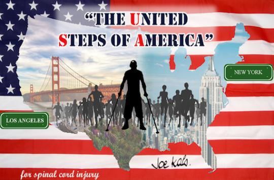 Joe Kals : un paraplégique va traverser les Etats-Unis