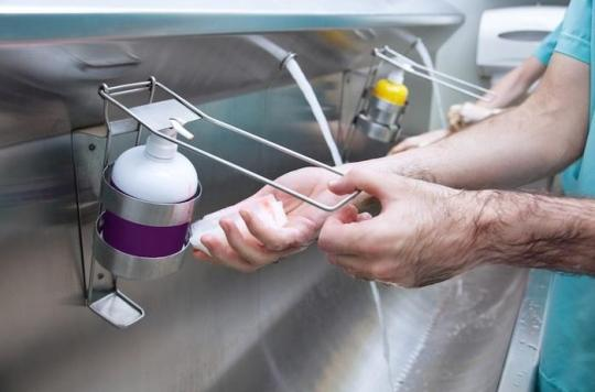 Hygiène des mains : \
