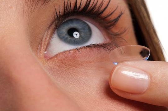 Les lentilles modifieraient la diversité bactérienne de l'œil