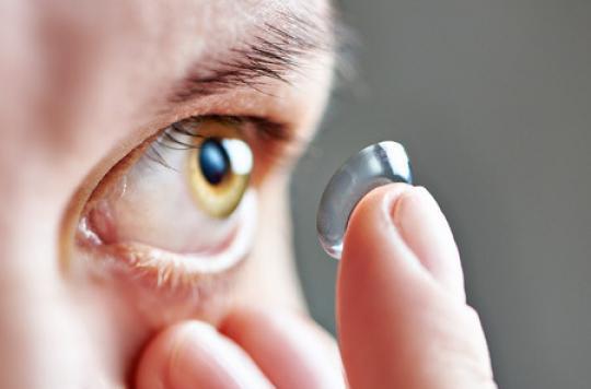 Les lentilles de contact modifient la flore bactérienne de l'oeil