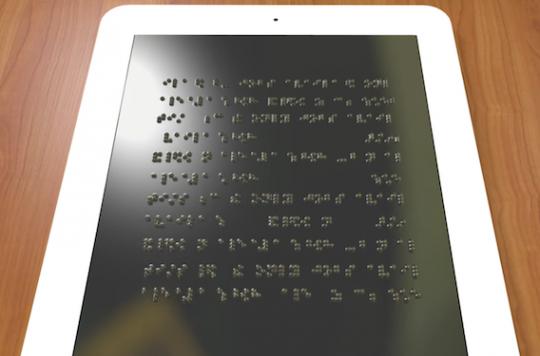 Une liseuse en braille en développement aux Etats-Unis