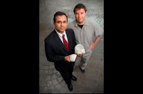 Impression 3D: un crâne artificiel implanté sur un patient américain
