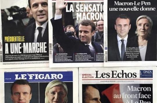 Santé : Emmanuel Macron et Marine Le Pen affichent la couleur