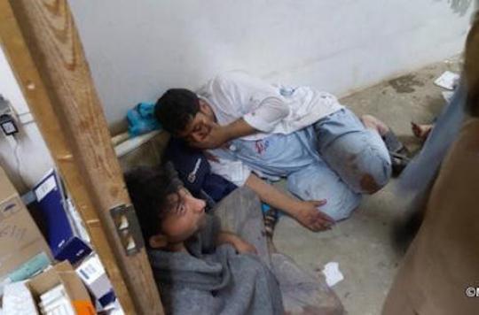 Afghanistan: un hôpital de MSF touché par une frappe aérienne