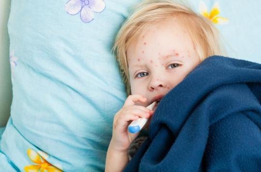 Rougeole : le taux de couverture vaccinale insuffisant en France