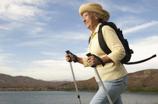 Seniors la marche rapide b n fique pour le coeur et les - Les bienfaits de la marche rapide sur tapis ...