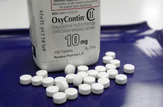 Abus d'antidouleurs : les consommateurs de drogues plus exposés