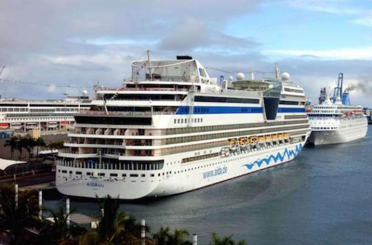 Pollution de l 39 air les bateaux de croisi re intoxiquent - Port embarquement croisiere marseille ...