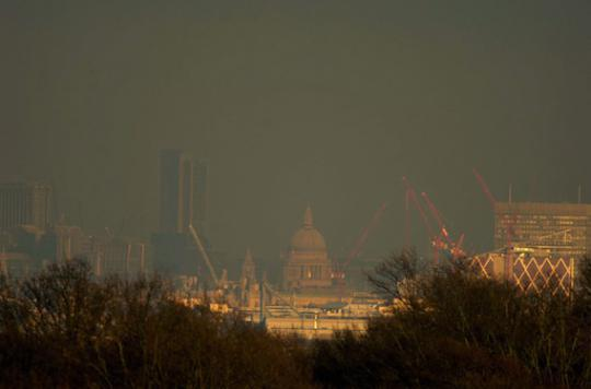 Pollution de l'air : un surrisque de mortalité au bout de trente ans
