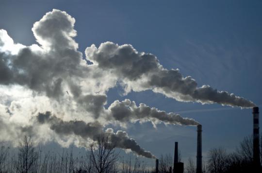 Pollution de l'air : un décès sur dix dans le monde