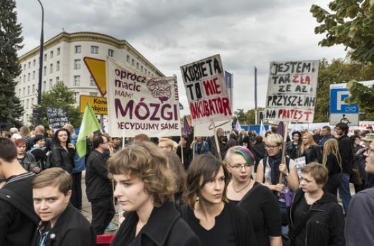 Pologne : les députés rejettent l'interdiction de l'avortement