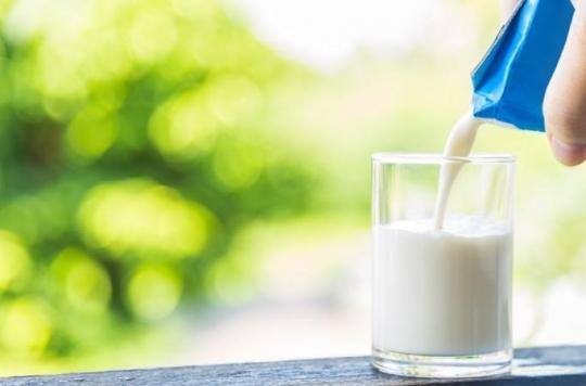 Des résidus de détergent trouvés dans des briques de lait