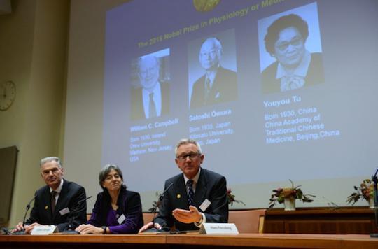Nobel de médecine : la lutte contre les maladies parasitaires à l'honneur